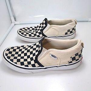 Vans Iconic Checkered Slip Ons Kids 3.5